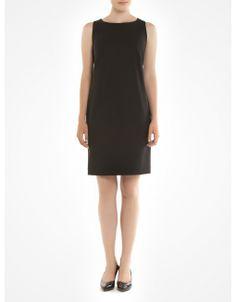 Robe fourreau sans manches 100 % fabriquée au Canada / Sleeveless sheath dress 100% made in Canada www.jacob.ca