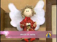 ▶ Anjos de natal | Artesanato do SABOR DE VIDA - YouTube