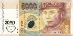 5000 Slovenskych Korún 2000 (Millennium)
