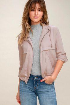 #AdoreWe #Lulus - #Lulus Halley Mauve Jacket - Lulus - AdoreWe.com