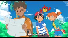 Original trio in Alola<<<This would have made me watch the new art style