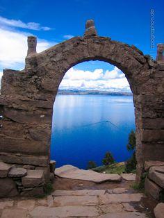Taquile island, Lake Titicaca, Peru.  Photo: Oliver Schlecht via 500 px