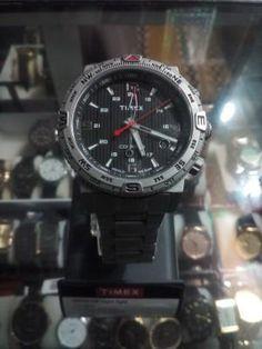 Original Timex Indiglo Chronograph Watch with Compass|Dukandar pakistan