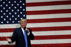 Republican Trump says 70 percent of federal regulations 'can go'.(October 7th 2016)