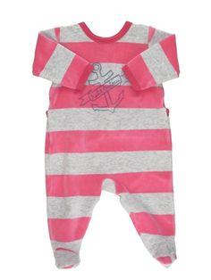 Pyjama 1 pièce Fille PETIT BATEAU 3 mois pas cher, 9.90 €
