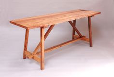 Paul Henderson Furniture & Design • Truss Table