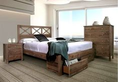 Yarra Timber Bed