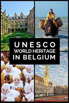 UNESCO World Heritage Sites in Belgium