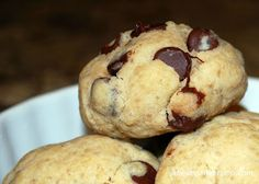 The Vegan Version: Chocolate Chip Cookies - good option if no eggs/butter in the house!
