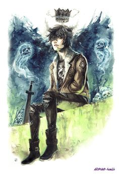 akimao: Nico Di Angelo ♥ prints REDBUBBLE SOCIETY6