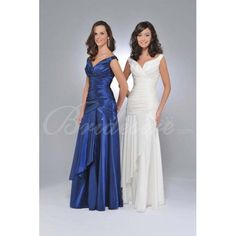 Empire Sleeveless Floor-length Taffeta Mother of the Bride Dress