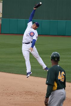 Spring Training with the Cubs.  Anthony Rizzo.