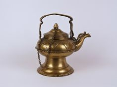 An Islamic Brass Hand Washing Kettle: Malay People, Sumatra - C. 1900 | 539888 | www.wjmantiques.com