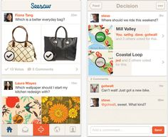Can't make up your mind? There's an app that can help you with that! #app #seesaw