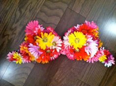EDC Bra Rave Bra Festival Electric Daisy by BrittsBlossoms on Etsy, $65.00