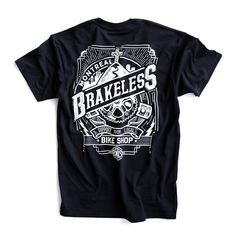 BRAKELESS - IDLEHAND - tees shirt design by MEKA , via Behance