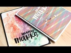 Video by Kristina Werner using New Simon Says Stamp from the Color of fun release.
