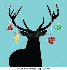 reindeer illustration - Saferbrowser Yahoo Image Search Results