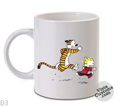 Calvin and Hobbes 8 copy Mug, Coffee mug coffee, Mug tea, Design for mug