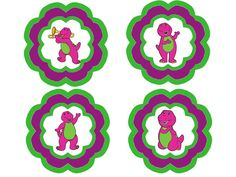 Barney Themed 3rd Birthday - events to CELEBRATE! Free printables