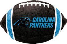 NFL Carolina Panthers Football Jr Shape Balloon