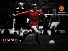 Denis Law -Manchester United FC-Red Legends