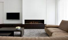 Simple but elegant livingroom by Aerts+Blower.