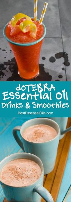 I love this list of doTERRA essential oil drinks and smoothies because there is an image for each recipe and a link to get the recipe. So easy to find a good doTERRA recipe.