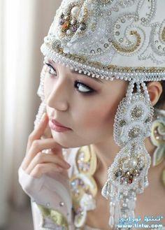 Kazakh wedding  #wedding #dress #bride http://www.illusionbridals.com/