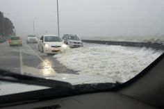 Surface flooding in St Heliers. Photo / Dave Cave