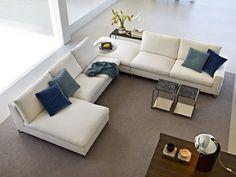 Living Room Design - Molteni & C Sectional Sofas