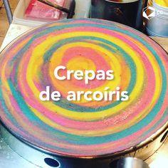 Mini-Omelett-Muffins - New Ideas - New Ideas Crepe Cafe, Chocolate Dome, Ice Cream Menu, Pancake Art, Food Graphic Design, Crepe Recipes, Food Goals, Cafe Food, Cake Shop