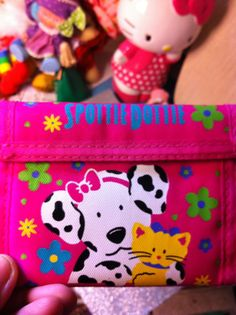 Vintage Sanrio Spotty Dotty Plastic Purse and by NiftyVintageGirl, $24.00
