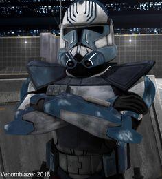 Star Wars Concept Art, Star Wars Fan Art, Star Wars Rpg, Star Wars Clone Wars, Star Wars Characters, Star Wars Episodes, Jedi Armor, Guerra Dos Clones, Tableau Star Wars