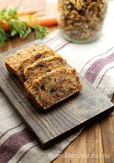 carrot cake sans blé , sans oeufs