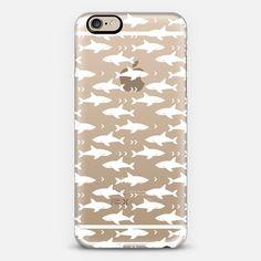 Shark transparent cell phone case shark week ocean fishing nature iphone - Classic Snap Case
