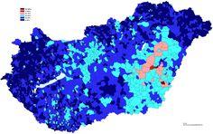 Felekezetenkívüliek 2001 No religion Hungary 2001