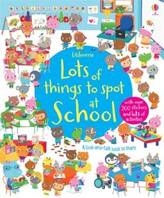 Lots of things to spot at school £3.99 (save £2) To order: comment or email jane@quackquackbooks.co.uk