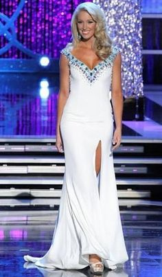 2013 Miss America Pageant - Miss Tennessee, Chandler Lawson, in my personal favorite gown of the night.