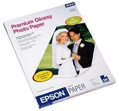 PHOTO PAPER by Epson. $41.12. Main FeaturesManufacturer: Epson CorporationManufacturer Part Number: S041667Manufacturer Website Address: www.epson.comBrand Name: EpsonProduct Line: PremiumProduct Name: Premium Glossy Photo PaperMarketing Information: Premium Glossy Photo Paper has a high gloss finish that is perfect for printing your favorite cherished photos and enlargements for use with glass frames and photo albums. Inkjet paper is specially coated to produce lab-qua...