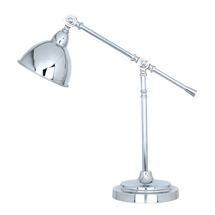 Chrome Lever Arm Table Lamp