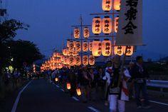 御所の献灯行事 鴨都波神社 - 奈良県御所市
