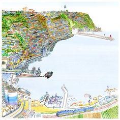 항구도시 그리기-1 : 네이버 블로그