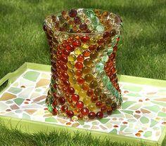 Como Fazer Mosaico com Vidro