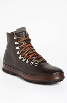 Santoni 'cool city' boot mens boots mens hiking boots fall/w Best Hiking Shoes, Mens Hiking Boots, Men Hiking, Hiking Gear, Top Shoes, Me Too Shoes, Men's Shoes, Shoe Boots, Mens Fashion Shoes