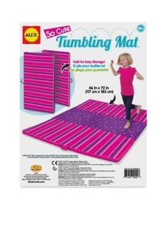 Alex Toys Active Play Tumbling Mat So Cute - Pink - No Size