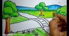 12 Contoh Lukisan Pemandangan Yang Mudah Ditiru Berwarna Anggara Putra Anggardipramusita On Pinterest Download Inilah M Di 2020 Cara Menggambar Pemandangan Gambar