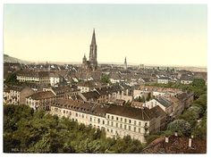 Friburg,Germany at the end of the 19th century - SkyscraperCity