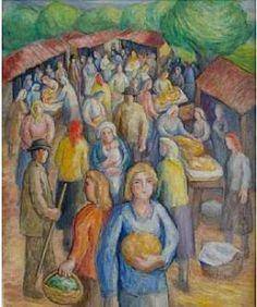 Dos maestros universales www.lavozdegalicia.es300 × 359Buscar por imagen Reproducciones de sendas obras tanto de Laxeiro (arriba) como Colmeiro (abajo) que se exponen. FRAU José PINTOR - Buscar con Google Painting, Art