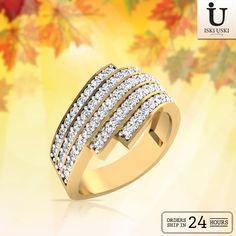 Browse through the new Diamond Rings ..Now available on IskiUski.com